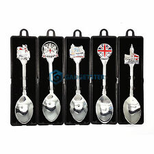 English London Souvenir Crested Tea Spoon Collectors Novelty Classic Gift Boxed