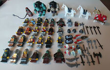 LEGO Castle Minifigure Lot (26 Minifigures) w/ many accessories