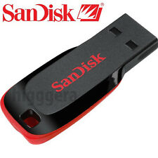NEW SanDisk CRUZER BLADE 128GB 64GB 32GB 16GB USB Flash Pen Drive Memory Stick
