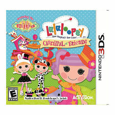 Lalaloopsy:Carnival Of Friends-Sew Magical Cute Dolls Grow Flowers-NINTENDO 3DS