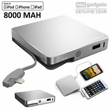 Genuine MIPOW Power Bank Cube 8000 mAh Portable Charger for Apple iPhone iPad