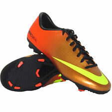 Nike Men's Mercurial Victory IV FG Molded Soccer Cleats Shoes 555613 778 Sz 9.5