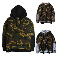 Men Women Couples Lovers' Outdoor Hoodies Carmuflage Pullover Casual Sweatshirt