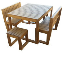Recubo 6 Seater Outdoor Setting 5 Piece Set