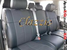 2007-2013 GMC SIERRA CREW CAB | CLAZZIO LEATHER SEAT COVER (1+2 ROWS)