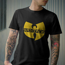 Wu Tang Clan Classic Yellow Wu-Tang Logo Men T-shirt