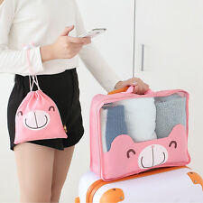 Portable Travel Organizer Cosmetic Makeup Bag Bra Underwear Wash Bag Pouch New