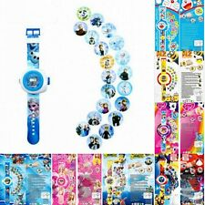 New Childrens Kids Automatic Projector Watches Digital Wrist Watches Toys Gifts