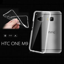 Slim Soft Transparent TPU Rubber Gel Skin Protector Case Cover for HTC ONE M9 tp