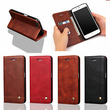 Wallet Magnetic Flip Leather Card Stand Case Cover for Apple iPhone 6 6S Plus 5S