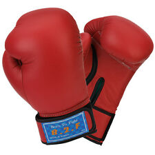 B2F Born To Fight Boxing Gloves Sparring Training Gym Red - 102671