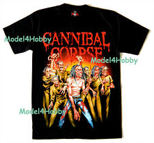 CANNIBAL CORPSE T-Shirt Black Size M L XL BAND DEATH METAL MONSTER REAPER ZOMBY
