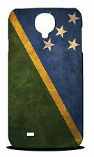 SOLOMON ISLANDS COUNTRY FLAG  HARD CASE COVER FOR SAMSUNG GALAXY S4