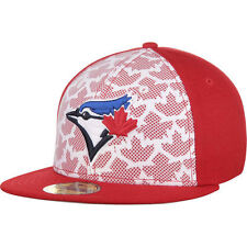 New Era Toronto Blue Jays White/Red Stars & Stripes 59FIFTY Fitted Hat