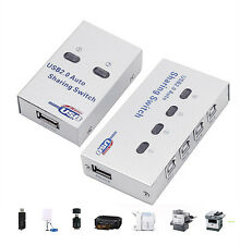 2/4 Port Switch Hub High Speed USB 2.0 Auto Sharing Switcher For Printer Scanner