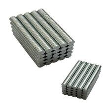 100-200pcs N50 3mm x 1mm Strong Small Disc Round Rare-Earth Neodymium Magnets