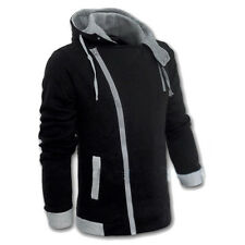 Fashion Mens Casual Slim Fit Hoodie Zipper Long Sleeve Hooded Coat Jacket Tops T