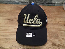 UCLA Bruins Hat Cap Adidas Youth One Size Black Strapback Stretch NEW
