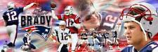 Tom Brady Quarterback New England Patriots Photoramic #1038