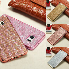 Luxury Bling Sparkling Diamond Back Hard Case Cover For Samsung/ iPhone Models