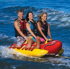 Ski Tubes And Towables For Adults Kids Lake Inflatable Tow Boating Water Toys