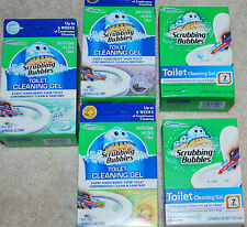 SCRUBBING BUBBLES TOILET CLEANING GEL NEW OOB