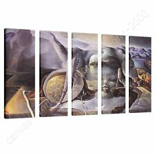 CANVAS +GIFT The Endless Enigma Salvador Dali 5 Panels Prints Pictures Poster