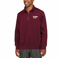 Stadium Athletic Virginia Tech Hokies Maroon Logo Quarter-Zip Sweatshirt