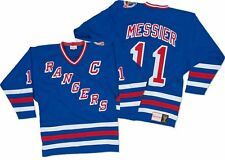 Mark Messier New York Rangers Mitchell & Ness Authentic 1993 Blue NHL Jersey