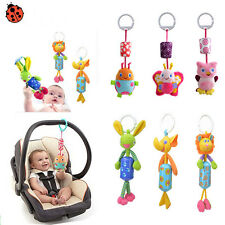 Animal Stroller Baby Infant Rattles Plush Music Hanging Bell Toy Doll Soft Bed