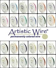 Large 1/4lb Spools - SILVER PLATED and TARNISH RESISTANT Artistic Wire