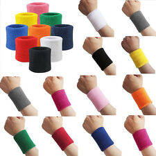 Sweatbands Terry Cloth Cotton Wrist Sweat Band Sports/Yoga/Workout/Running