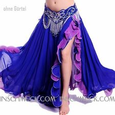 C234 Belly Dance Costume Skirt with Slits Tribal Fusion Belly Dance