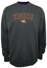 "LSU Tigers NCAA Champion ""Safety"" Men's Pullover Crew Sweatshirt"