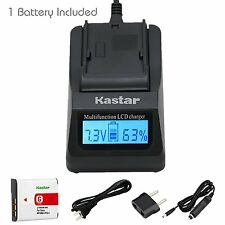 Kastar Battery and Kastar Ultra Fast Charger Kit for Sony NP-BG1, NP-FG1