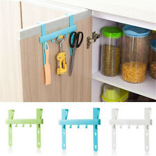 1 pcs Rack Storage Door Holders Hangers Kitchen Bathroom Towel Hanging Tools New