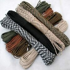 100FT Survival Outdoor New Lanyard Core Nylon 550 Paracord Parachute Cord Strand