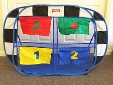 NEW FOOTBALL GOAL TENT PORTABLE FOLDING POP UP PLAY TENT KID'S PLAYHOUSE PLAYHUT