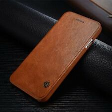 Luxury Genuine Leather Magnetic Cover Flip Wallet Case For Apple iPhone 7/7 Plus