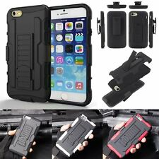 Hybrid Rugged Hard Case Cover Belt Clip Holster Stand For Apple iPhone 7 /7 Plus