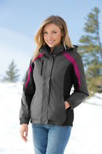 Port Authority® Ladies Colorblock 3-in-1 Jacket L321 Sizes XS to 4XL Brand New