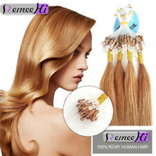 15''-20''Real Human Hair Loop Micor Ring Beeds Extensions 100S Beauty Hair