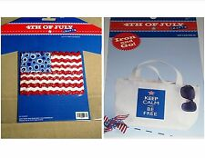 4TH OF JULY CRAFTS Iron-on Applique OR Transfer - CHOOSE 1