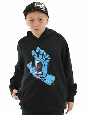 Santa Cruz Black Screaming Hand Kids Hoody