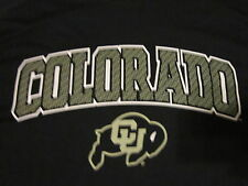2016 CU COLORADO UNIVERSITY BUFFS SECTION 101 LICENSED COLLEGIATE FUSION FIT NEW