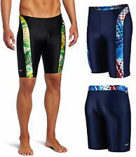 "Speedo Mens Boys Team ""Home of the Fast"" Swimsuit Trunk Jammer 7082131 Sz 30-38"