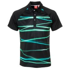 *PUMA - Men's Fluid Light Golf Polo Shirt - Black, Scuba Blue, Pool Green - New*