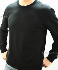 LACOSTE Mens Garment Dyed CrewNeck Jersey Knit Sweater Logo Pullover Top L 6 NWT