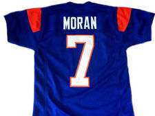 Alex Moran #7 Blue Mountain State Football Blue Jersey Mens Adult TV Costume New