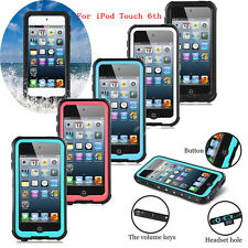 Swimming Shockproof Waterproof Lifeproof Case Cover For iPod Touch 5 6 6th Gen